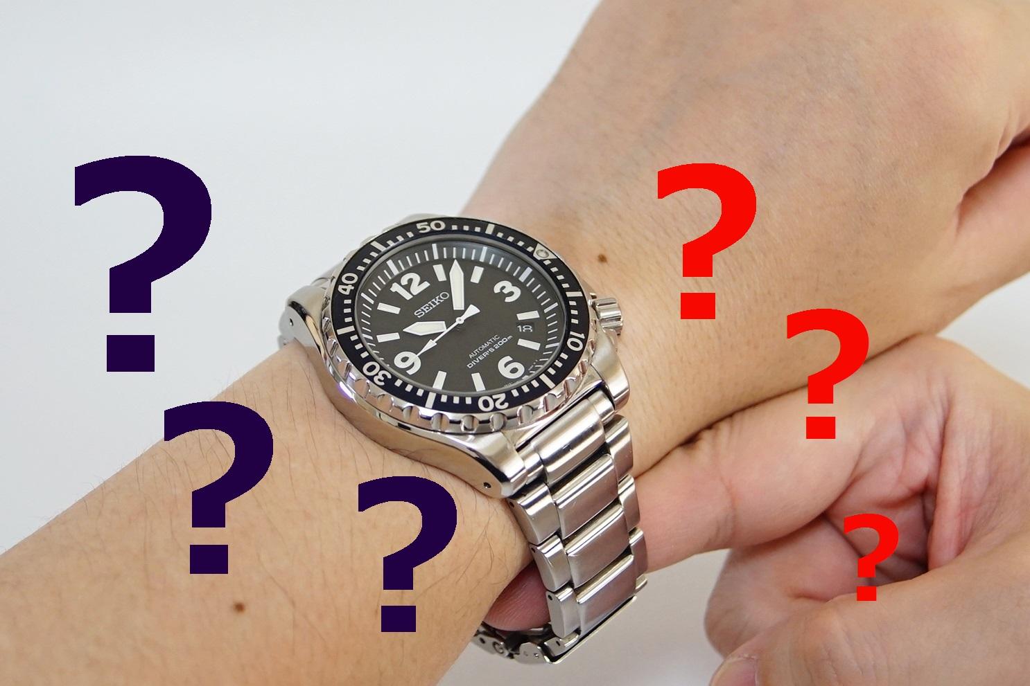timeless design 19965 7b18b 時計ベルトのサイズとバランスを確認しよう! | watch-mix