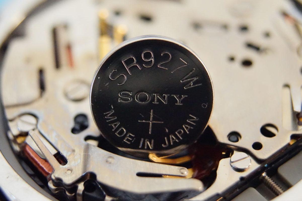 腕時計のボタン電池について【電池対応表】