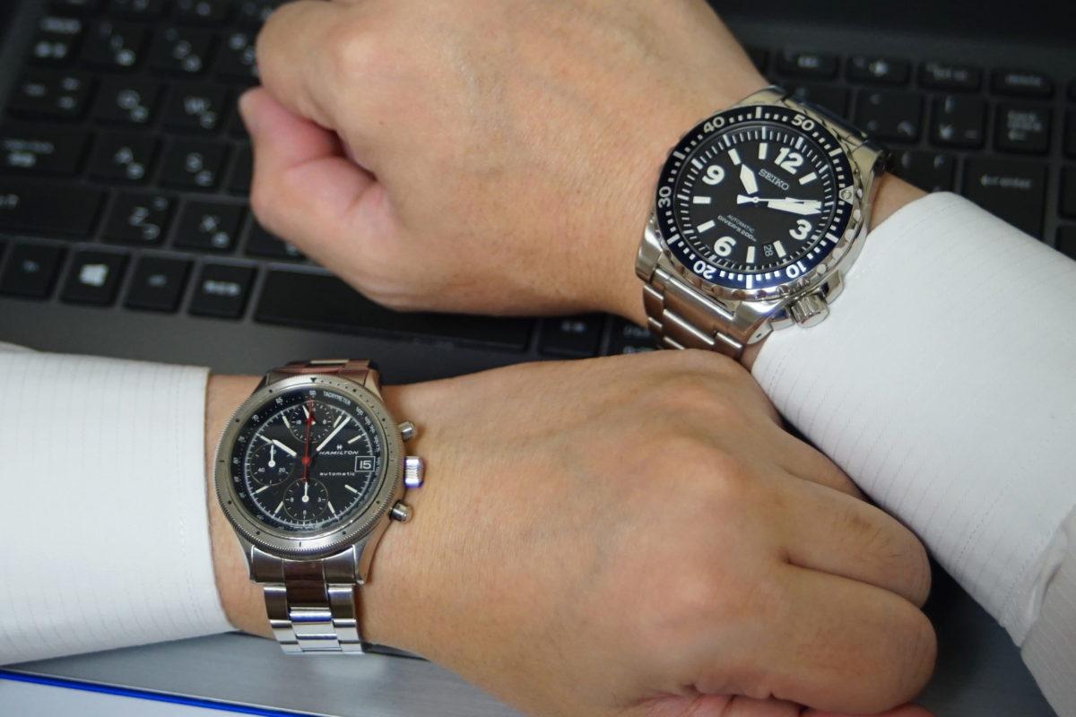 腕時計は左腕?右腕?どっちがおすすめ?【素朴な疑問】