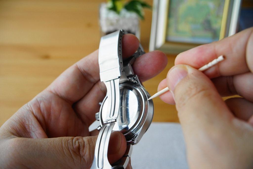 腕時計の掃除方法解説17