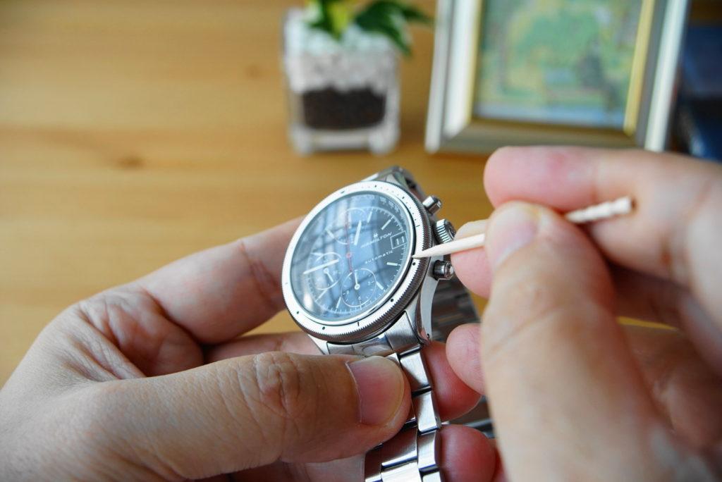 腕時計の掃除方法解説18