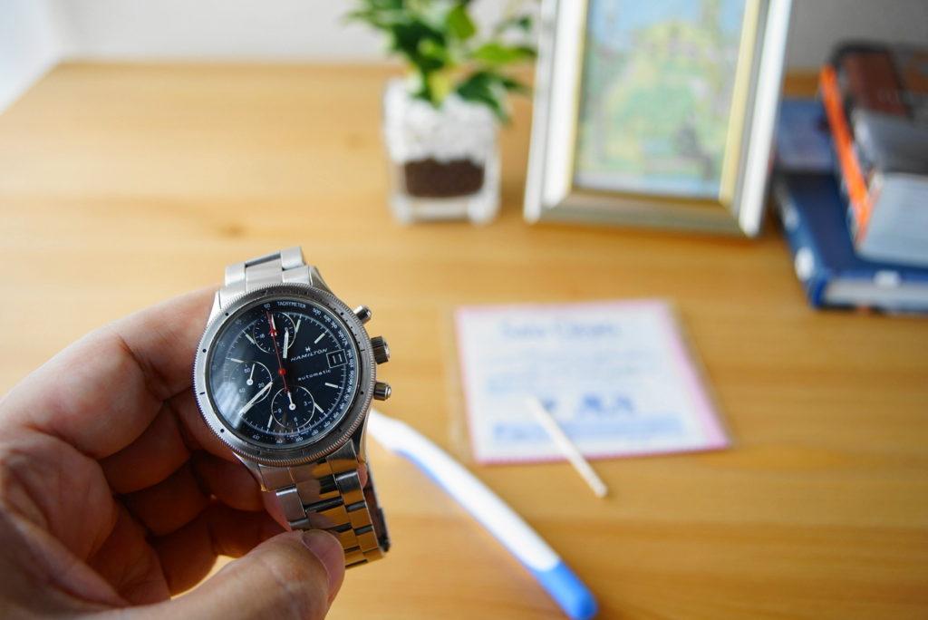 腕時計の掃除方法解説2