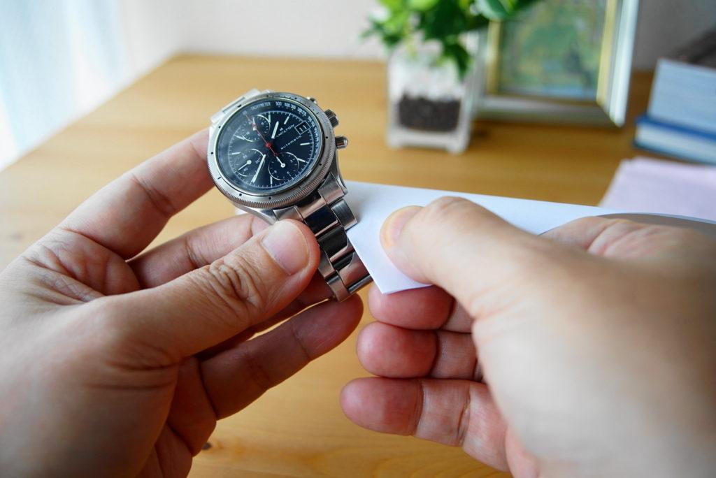 腕時計の掃除方法解説33