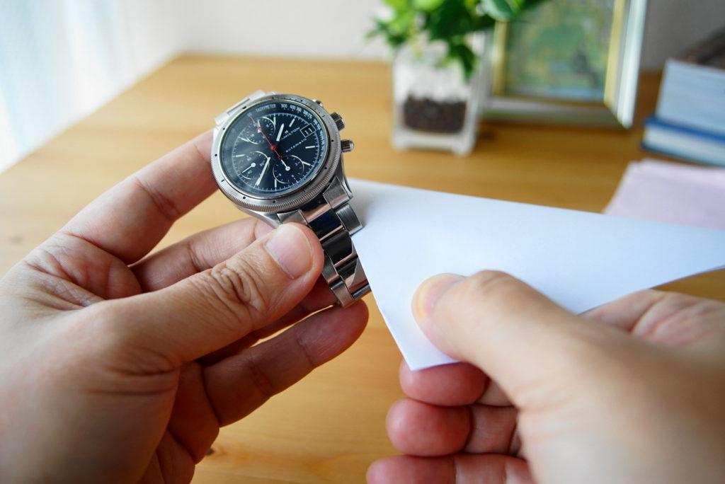 腕時計の掃除方法解説34
